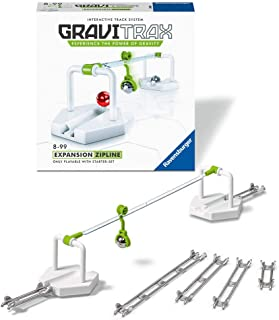 Ravensburger GraviTrax Zipline Accessory - Marble Run and STEM Toy for Boys and Girls Age 8 and Up - Expansion for 2019 To...