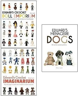 Kerry Lord Collection 3 Books Set (Edwards Crochet Doll Emporium, Imaginarium, Menagerie)