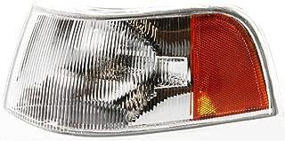 New Left Driver Side Corner Lamp Lens and Housing For 1995-1997 Volvo 960, 1998 Volvo S90 91782292 VO2520106