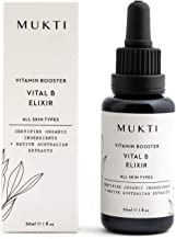 MUKTI - Organic Vitamin Booster Vital B Elixir | Clean, Non-Toxic, Natural Skincare (1 fl oz | 30 ml)
