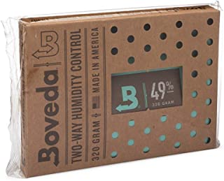 Boveda 音楽 49-RH 2-ウェイ 湿度 コントロール サイズ 320 リテール ケース それとも 展示 キャビネット用 保護 フレット それとも ボウド ウッド インストゥルメント 防止 クラッキング と ワーピング 1-カウント