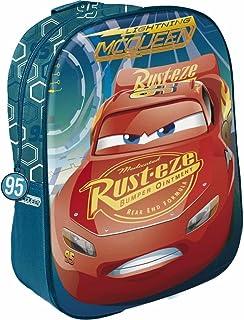 Disney Cars - Mochila para niños, 31 cm, multicolor