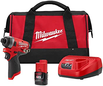 Milwaukee FUEL 12-Volt Lithium-Ion Cordless 1/4 in. Hex Impact Driver Kit