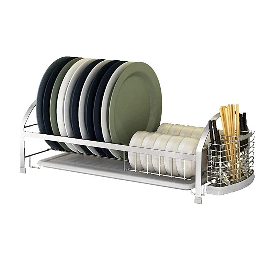 修正マネージャー見通しチュアンロン 乾燥ラックおよび用具プレートホルダー、折りたたみ式多目的シンク皿洗い機、スリップ防止シリコンコーティング