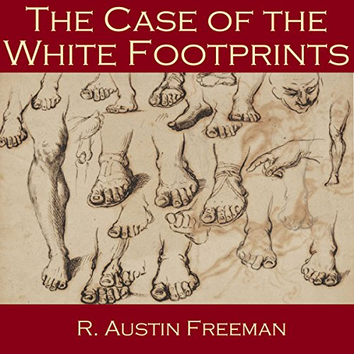 The Case of the White Footprints audiobook cover art