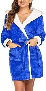 Blue and WhiteSize Women Robe For Women