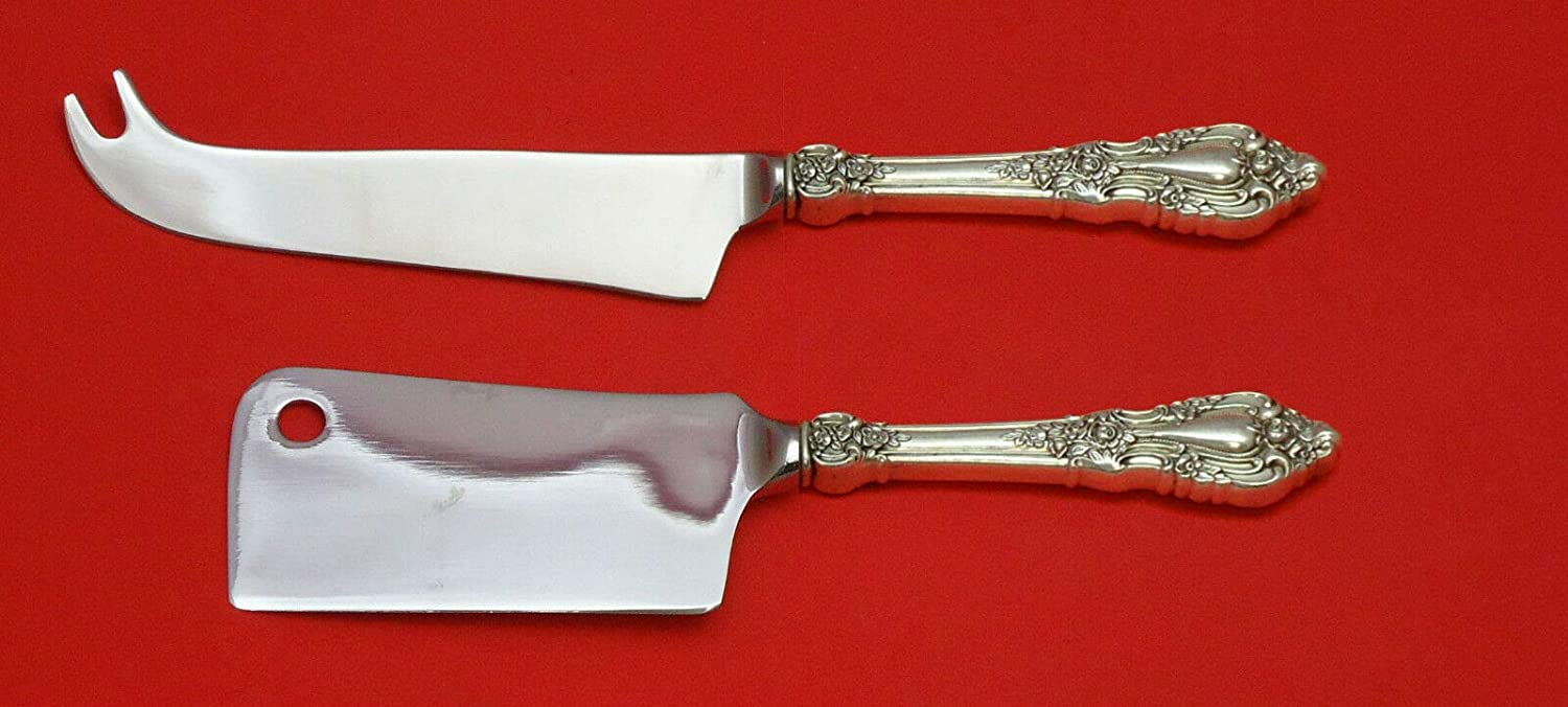 ELOQUENCE Max 88% OFF BY LUNT STERLING SILVER 2PC CHEESE SERVER Limited time sale SERVING SET