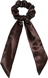 yeesport Women Hair Scarf Scrunchie Set Retro Fashion Hair Scarf Tie Hair Ribbon Scrunchie Gentle Style Hair Accessories f...