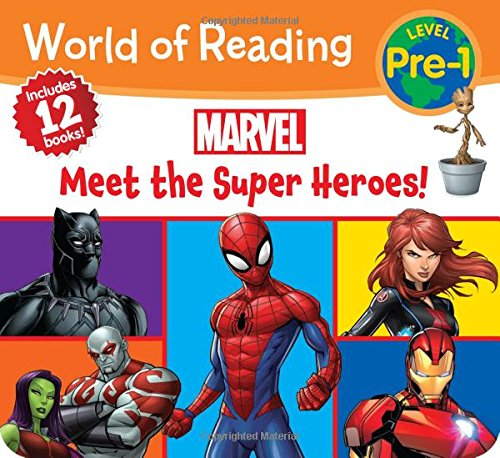 Compare Textbook Prices for World of Reading Marvel Meet the Super Heroes! Pre-Level 1 Boxed Set Box Edition ISBN 9781368008525 by Marvel Press Book Group,Marvel Press Artist