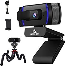 AutoFocus 1080P Webcam with Mini Tripod Kits, N930AF FHD USB Web Camera with Privacy Cover, Extendable Tripod Stand, for Z...
