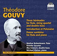 Serenades for Flute & Strings by Theodore Gouvy (2013-05-03)