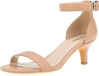 Women Sexy Open Toe Ankle Straps Low Heel Sandals