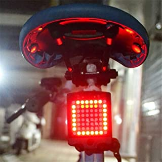 Oeyal USB Rechargeable Bike Turn Signals Lights, Bike Tail Light Waterproof LED Cycling Rear Tail Light Safety Warning