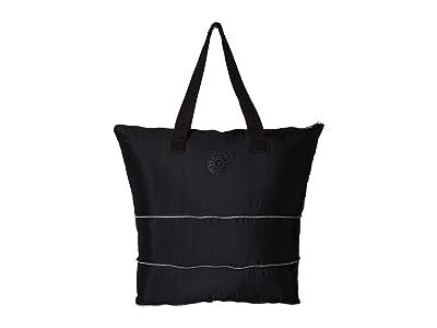 Kipling Imagine Packable Tote (Black) Tote Handbags