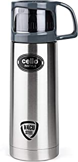 Cello-8901372161929 Instyle Stainless Steel Flask, Silver, 1000 ml, Stainless Steel