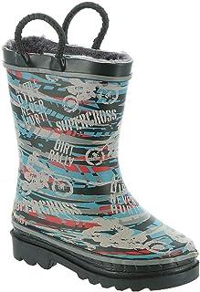 Western Chief Kids Boy's Supercross Rain Boot (Toddler/Little Kid)