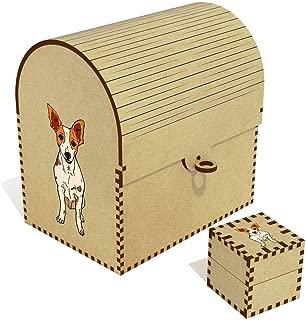 Azeeda  Rat Terrier  Treasure Chest Jewellery Box  TC00040994
