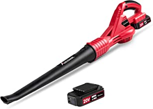 Avid Power Cordless Leaf Blower, 20V MAX Lithium Cordless Sweeper with 130 MPH Output,..