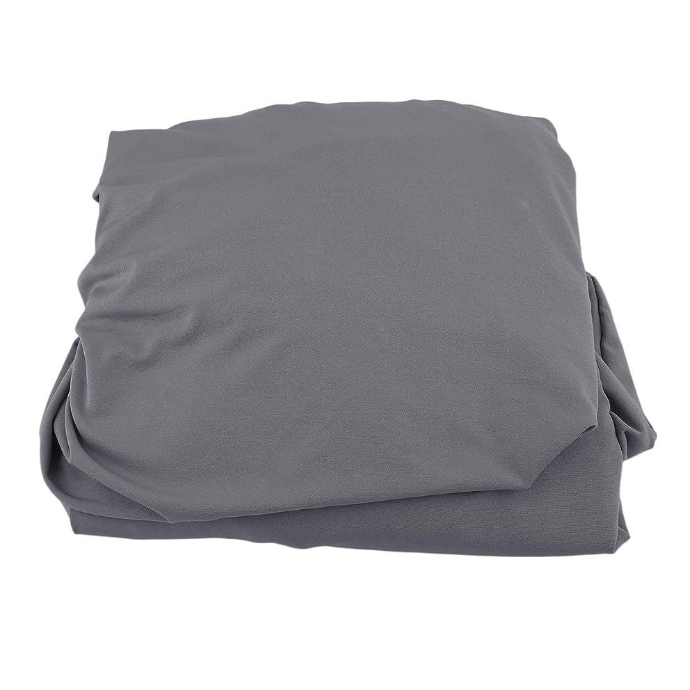代理店狂乱化学薬品Saikogoods 弾性ポリエステルソファカバーピュアカラーストレッチ本のカバー柔軟な椅子Dustcoat耐久性のあるソファーカバー家具の布 グレー