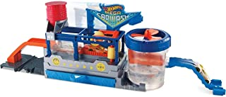 Hot Wheels FTB66 City Mega Car Wash Connectable Play Set with Diecast & Mini Toy Car