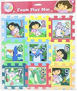 Dora the Explorer 9 Pc Foam Puzzle