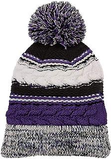 Nayked Apparel Women's Ridiculously Soft Chunky Knit Pom-Pom Beanie