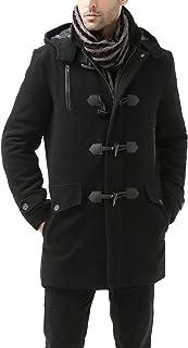 معطف رجالي من BGSD مصنوع من مزيج من الصوف الصناعي (عادي وكبير وطويل)