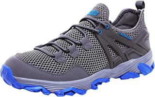 Men's Mesh Breathable Hiking Shoes Lightweight Non-Slip Outdoor Workout Friends Party Entertainment Walking Jogging Running Mountaineering Fighting Fitness Sports Shoes