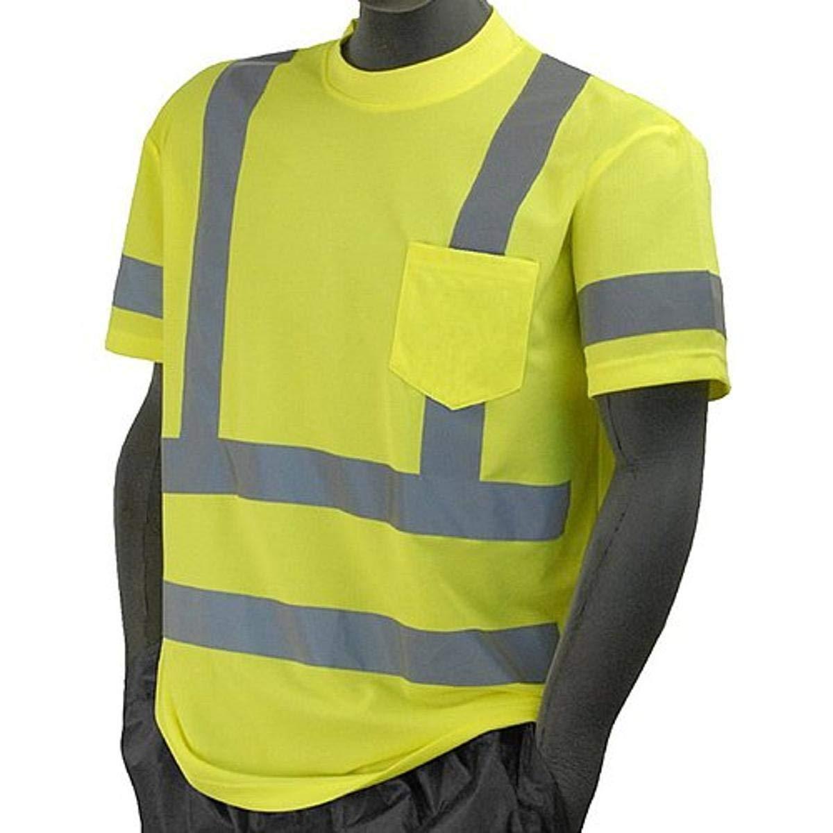Majestic Glove 75-5305 X3 T-Shirt Stripe High Financial trust sales sale Double Visibilit