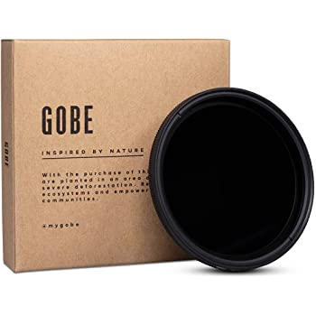 Gobe NDX 52 mm Variabler Graufilter ND2-400 ND Filter (1Peak)