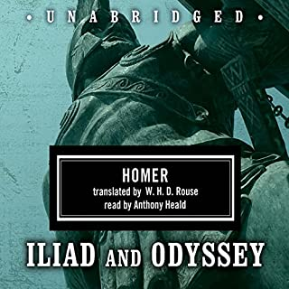 Homer Box Set: Iliad & Odyssey                   By:                                                                                                                                 Homer,                                                                                        W. H. D. Rouse - translator                               Narrated by:                                                                                                                                 Anthony Heald                      Length: 25 hrs and 2 mins     79 ratings     Overall 4.6