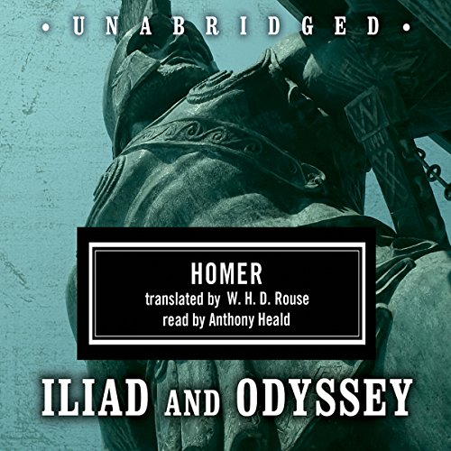 Homer Box Set: Iliad & Odyssey                   By:                                                                                                                                 Homer,                                                                                        W. H. D. Rouse - translator                               Narrated by:                                                                                                                                 Anthony Heald                      Length: 25 hrs and 2 mins     1,544 ratings     Overall 4.5