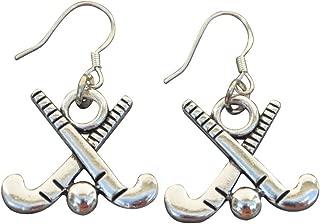 Field Hockey Earrings, Field Hockey Jewelry, Field Hockey Gifts, Field Hockey Charm Earrings, for Field Hockey Players