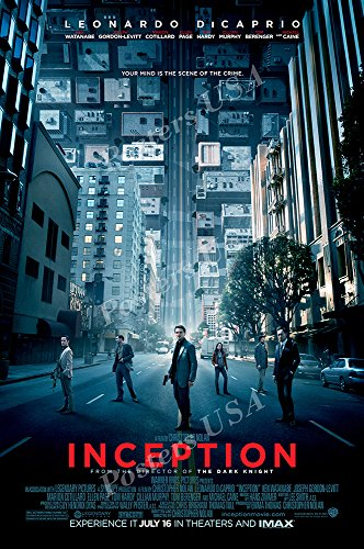 """Inception Movie Poster Glossy Finish Made in USA - MOV168 (24"""" x 36"""" (61cm x 91.5cm))"""