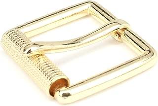 Square Heel Bar Buckle 1.5 Inch Brass Plate 65102-01