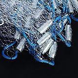 Demeras - Red de pesca a mano de alta calidad para pesca de noche al aire libre