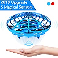 Jasonwell Hand Operated Drone for Kids Toddlers Adults - Hands Free Mini Drones for Kids Flying...