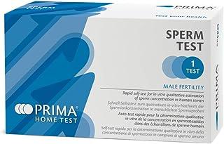 PRIMA Home Test - Sperm Test Fertilidad Masculina - Mide el Nivel de Concentración de Espermatozoides