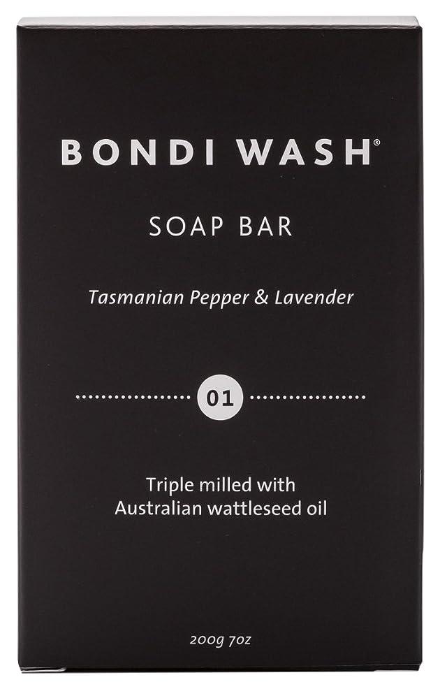 BONDI WASH ソープバー(固形石鹸) タスマニアンペッパー&ラベンダー 200g