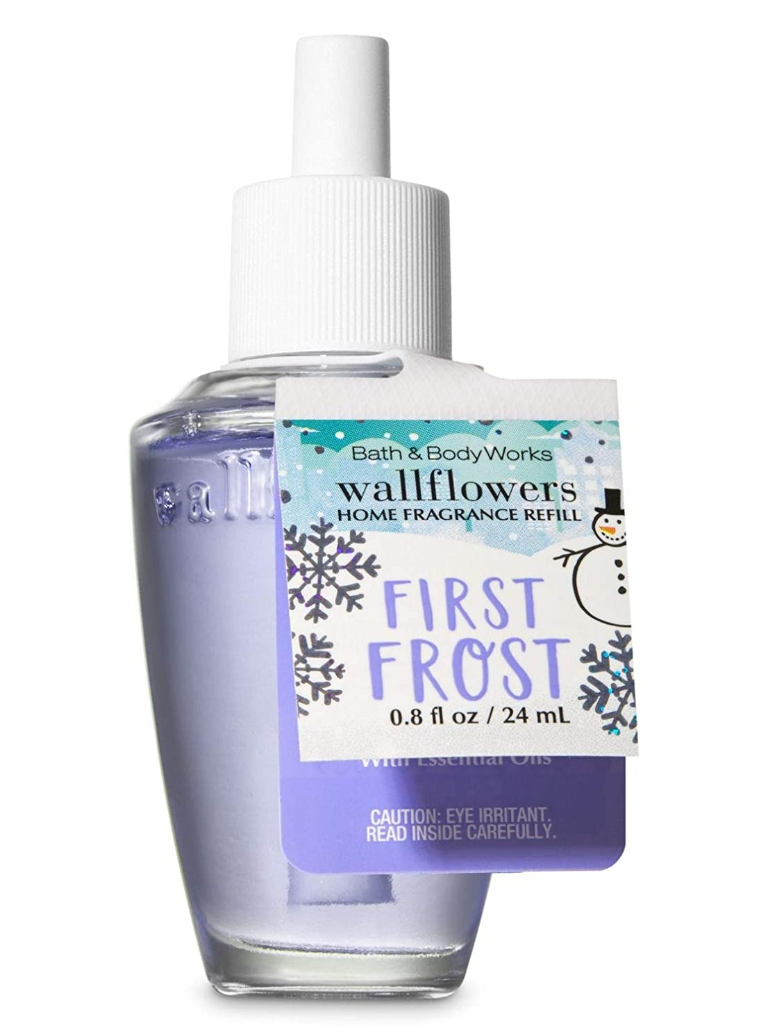 玉スコア旋回【Bath&Body Works/バス&ボディワークス】 ルームフレグランス 詰替えリフィル ファーストフロスト Wallflowers Home Fragrance Refill First Frost [並行輸入品]