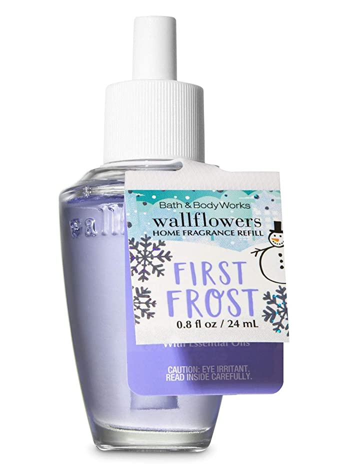 一緒祖先ブルゴーニュ【Bath&Body Works/バス&ボディワークス】 ルームフレグランス 詰替えリフィル ファーストフロスト Wallflowers Home Fragrance Refill First Frost [並行輸入品]