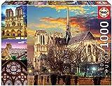 Educa 18456.5 Notre Dame Collage 1000 Teile