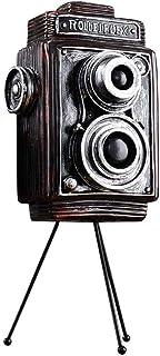 HXPBJ Estilo Americano Creativo Antiguo Modelo De Cámara Fotográfica Retro Decoración para El Hogar Estatua Estatuilla De Resina Decoración De Escritorio Manualidades