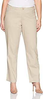 Riders by Lee Indigo Women's Plus Size Comfort Collection Twill L Pocket Pant