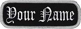 custom motorcycle name patches