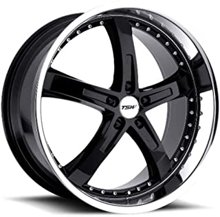 TSW JARAMA Black Wheel with Painted Finish (17 x 8. inches /5 x 4 inches, 40 mm Offset)