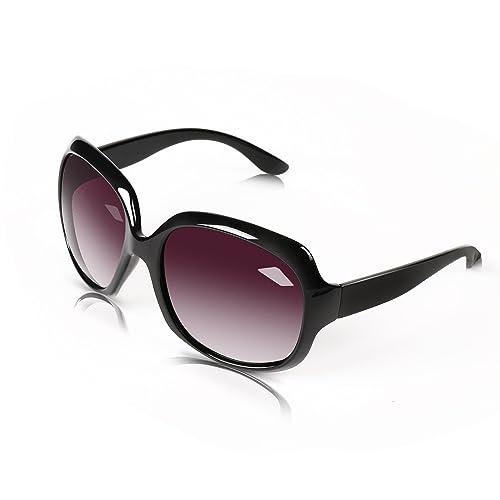 BLDEN Mujer Oversized Gafas De Sol Polarizadas Protección UV400 Grande Marco