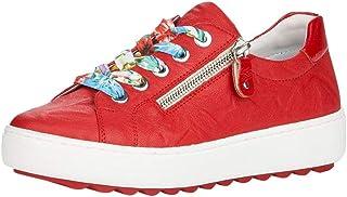 Remonte Mujer Zapatos de Cordones D1000, señora Calzado Deportivo