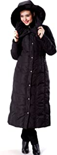 BGSD Women's Lacey Water Resistant Maxi Down Coat
