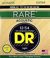 DR RARE RPM-12 Medium アコースティックギター弦×12セット
